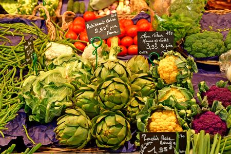 Rouen, France - september 9 2018 : the market on Place du Vieux Marche