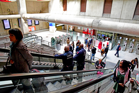 Paris; France - may 1 2019 : the Paris Nord station opened in 1846, in the 10th arrondissement