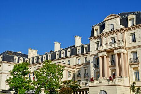 Saint-Malo ; France - 28 juillet 2019 : les thermes marins de saint malo Banque d'images