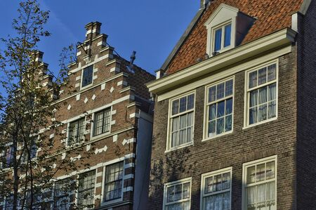 Amsterdam, Netherlands - november16 2018 : the picturesque city in winter Stock fotó