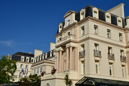 Saint Malo; France - july 28 2019 : les thermes marins de saint malo