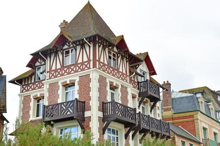 Blonville sur Mer, France - september 27 2019 : the picturesque village