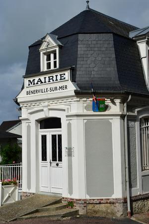 Benerville sur Mer, France - september 27 2019 : the city hall