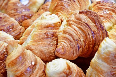 viennoiserie in a pastry in the Hampstead district