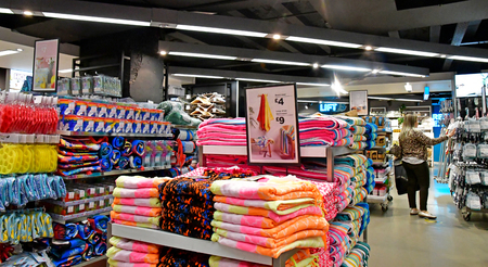 London, England - may 8 2019 : shop in Oxford street