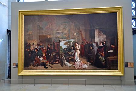 Paris; France - novembre 22 2019 : the Orsay museum, art of the 19th century Sajtókép