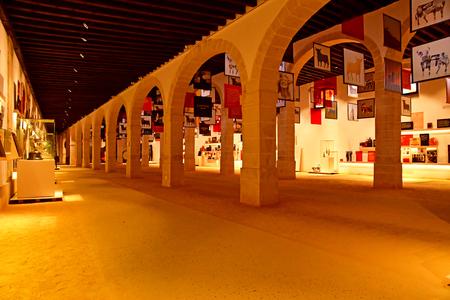 El Puerto de Santa Maria, Spain - august 26 2019 : the Osborne sherry cellars