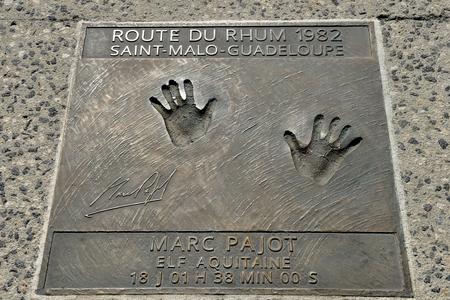 Saint Malo; France - july 28 2019 : Route du Rhum memorial Sajtókép