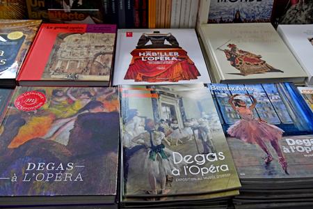 Paris; France - novembre 22 2019 : the Orsay museum gift shop