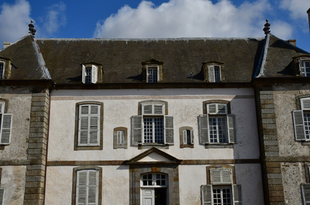 Saint Malo; France - july 28 2019 : La Chipaudiere built by Garengeau in the 18th century Sajtókép