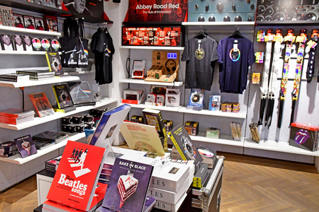 London; Westminster, England - may 6 2019 : the Abbey Road Shop