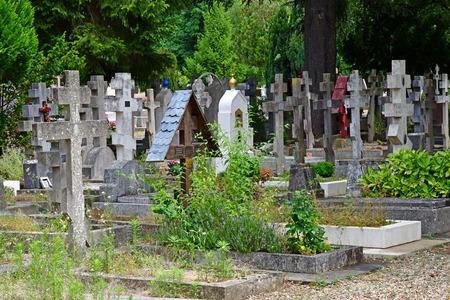 Sainte Genevieve des Bois, France - june 22 26 17 : the russian cemetery