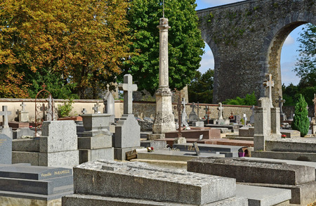 Louveciennes; France - september 9 2019 : the cemetery