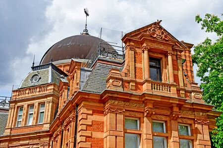 London, Greenwich; England - may 5 2019 : the Royal observatory