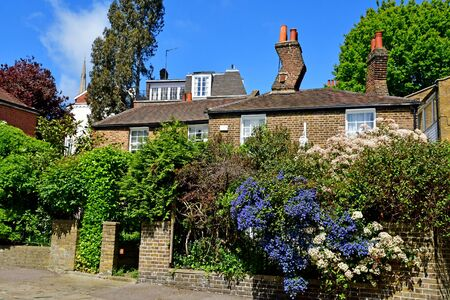 London; Hampstead, England - may 5 2019 : the Hampstead district  Stok Fotoğraf