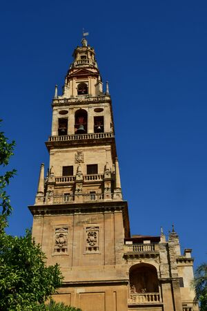 Cordoba; Spain - august 28 2019 : the Mosque Cathedral Stock fotó