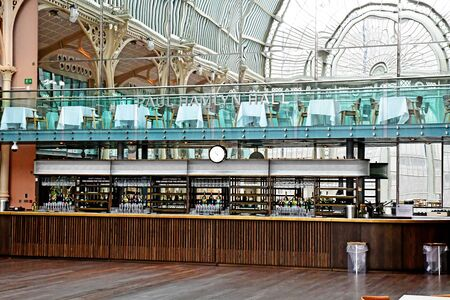 London, England -  may 3 2019 : the Royal Opera House restaurant