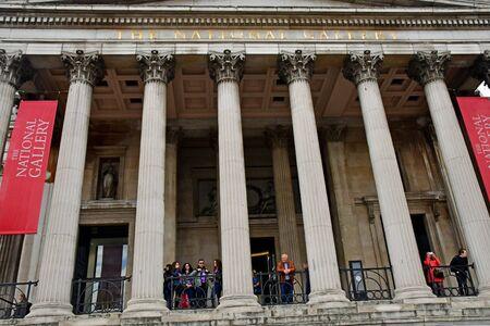 London, England -  may 3 2019 : the National Gallery Redakční