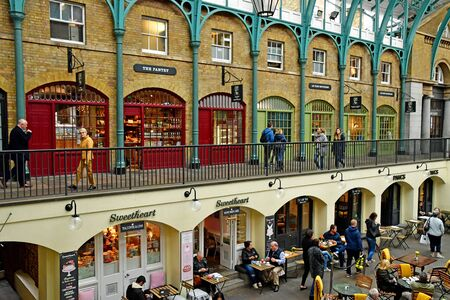 London, England -  may 3 2019 : the market at the Covent Garden district