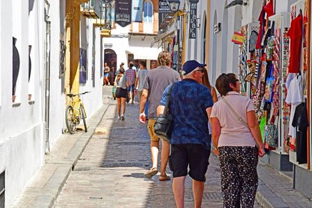 Cordoba; Spain - august 28 2019 : the old city
