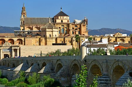 Cordoba; Spain - august 28 2019 : the Mosque Cathedral Imagens