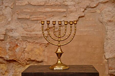 Cordoba; Spain - august 28 2019 : the synagogue in the old city