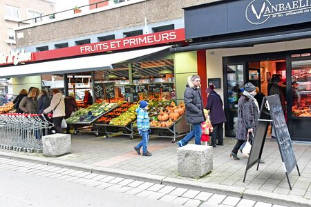 Dunkerque, France - january 25 2019 : shop in the city centre