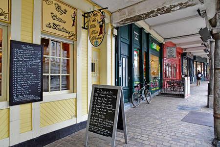 Aras, France - january 24 2020 : restaurants in the Taillerie street Sajtókép