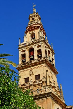 Cordoba; Spain - august 28 2019 : the Mosque Cathedral