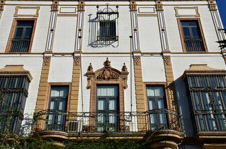 Seville; Spain - august 28 2019 : the historical city centre