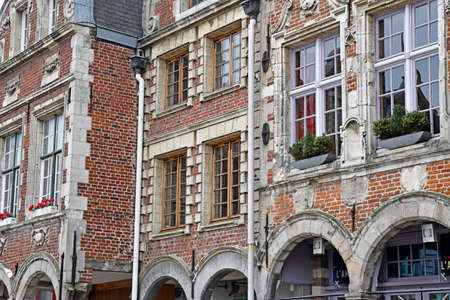 Aras, France - january 24 2020 : the Grand Place