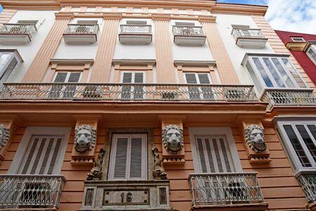 Cadiz; Spain - august 28 2019 : the historical city centre Reklamní fotografie