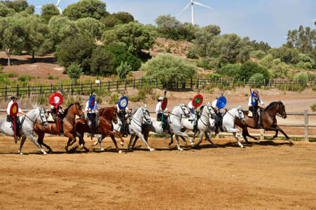 Medina Sidonia; Spain - august 28 2019 : the Acampo Abierto