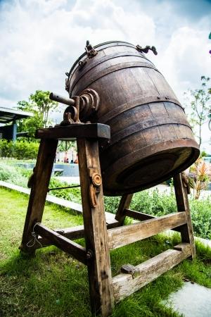Oak casks  Фото со стока