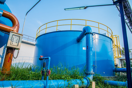 sewage treatment plant: Water treatment plants of the Waterworks in Thailand.