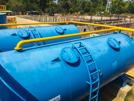 waterworks: Water treatment plants of the Waterworks in Thailand.