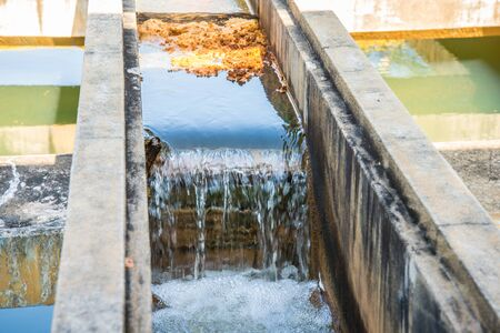 waterworks: Water treatment plants of the Waterworks in Thailand. Water purification Stock Photo