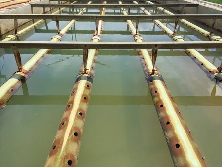 turbidity: Water treatment process and Water treatment plants of the Waterworks in Thailand.