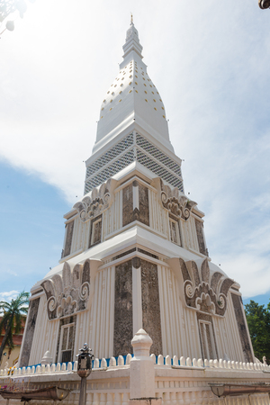 A pagoda in the temple of Thailand. 免版税图像