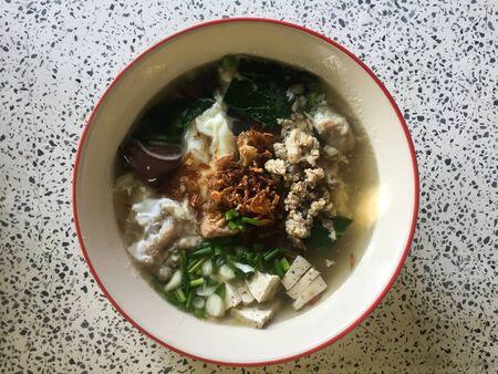 Thai noodles. Asian food, Thai food. delicious food. Banco de Imagens - 131997020