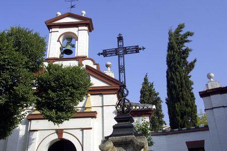 isidro: Cross of the chapel of San Isidro de Granada