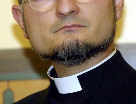 religious habit: PRIEST Exorcist