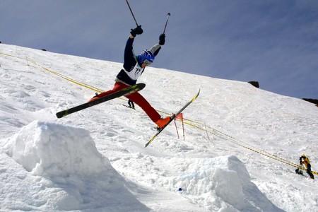 Championship ski art photo
