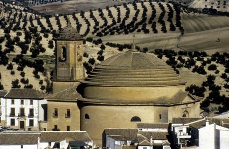 loja: Church of Loja Stock Photo