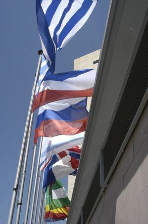 International flags Stock Photo - 4094526