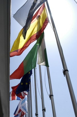 International flags photo