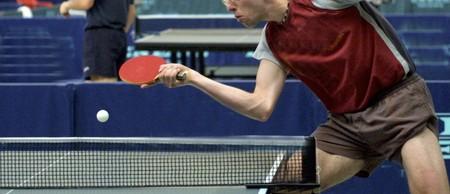 tennis de table: TENNIS DE TABLE CHAMPIONNAT Banque d'images