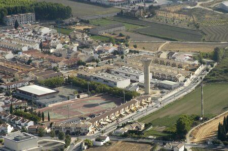 Luftbild Industriegebiet von Santa Fe