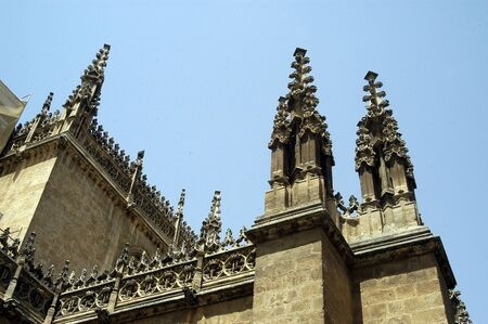 DETAILS OF THE CATHEDRAL OF GRANADA