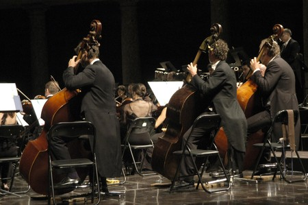 Orchestra concert of classical music